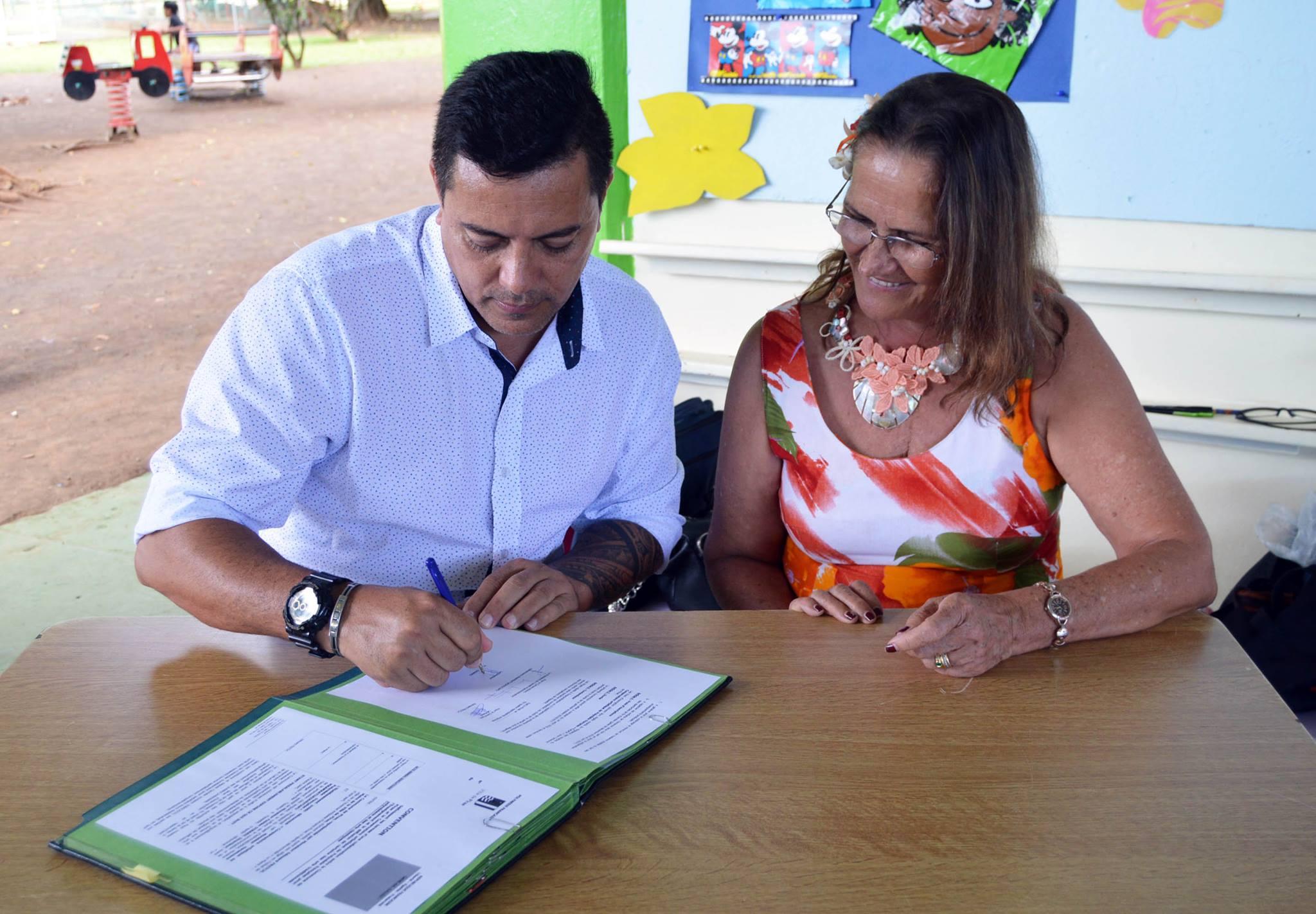 Le conservatoire réitère son partenariat avec la commune de Pirae