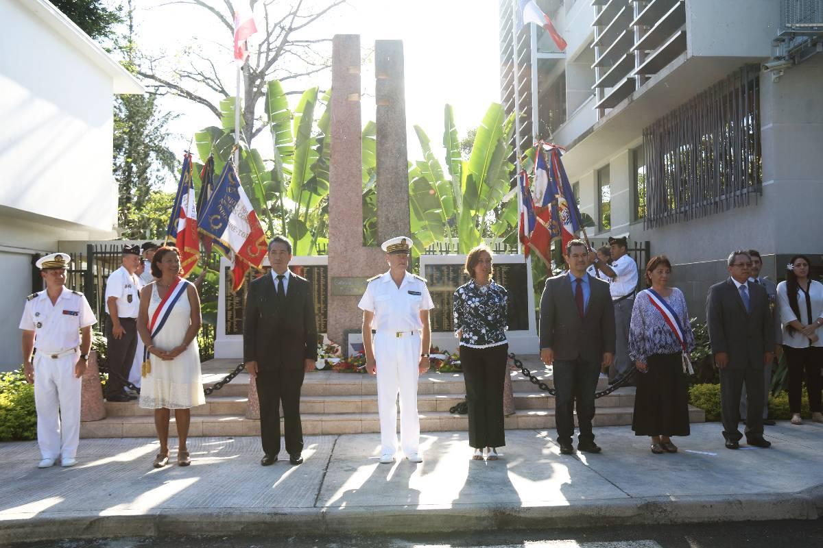 La cérémonie commémorative a eu lieu vendredi