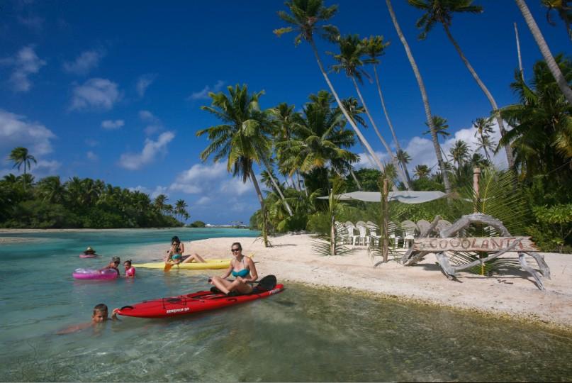 Bienvenue sur la plage de Cocolanta où il fait bon ne pas faire grand-chose, voire ne rien faire du tout !