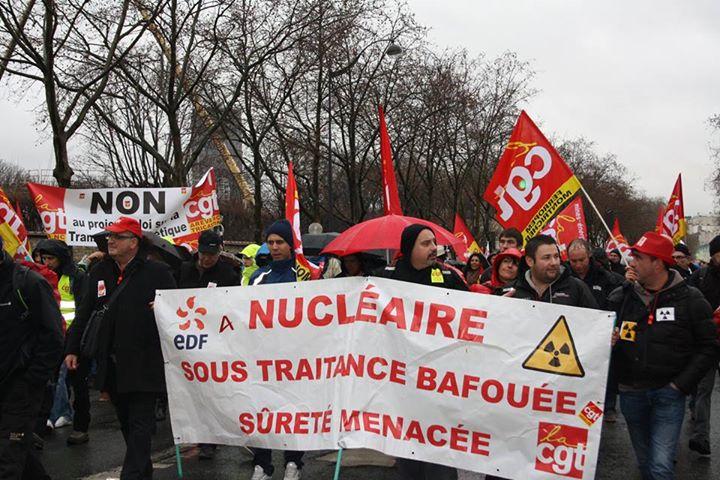 Les sous-traitants du nucléaire réclament un statut unique