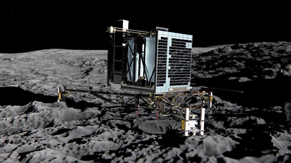 Rosetta a retrouvé le célèbre robot Philae