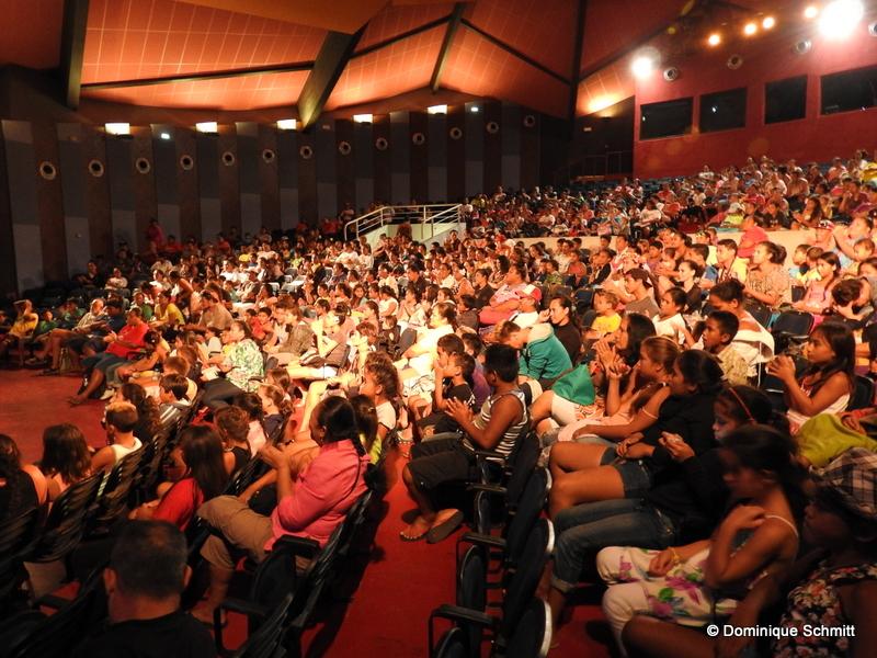 Le Grand théâtre de la Maison de la culture a affiché complet le week-end dernier.
