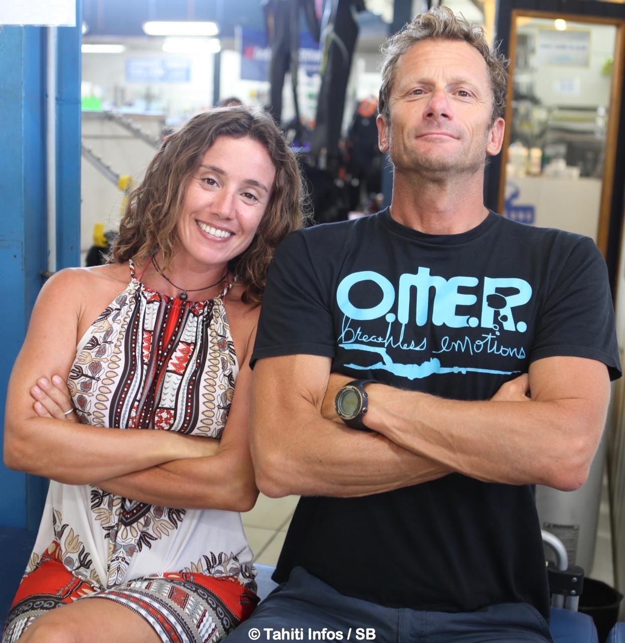 Umberto Pelizzari avec Lili Cottier