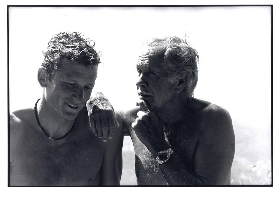 Umberto avec Jaques Mayol