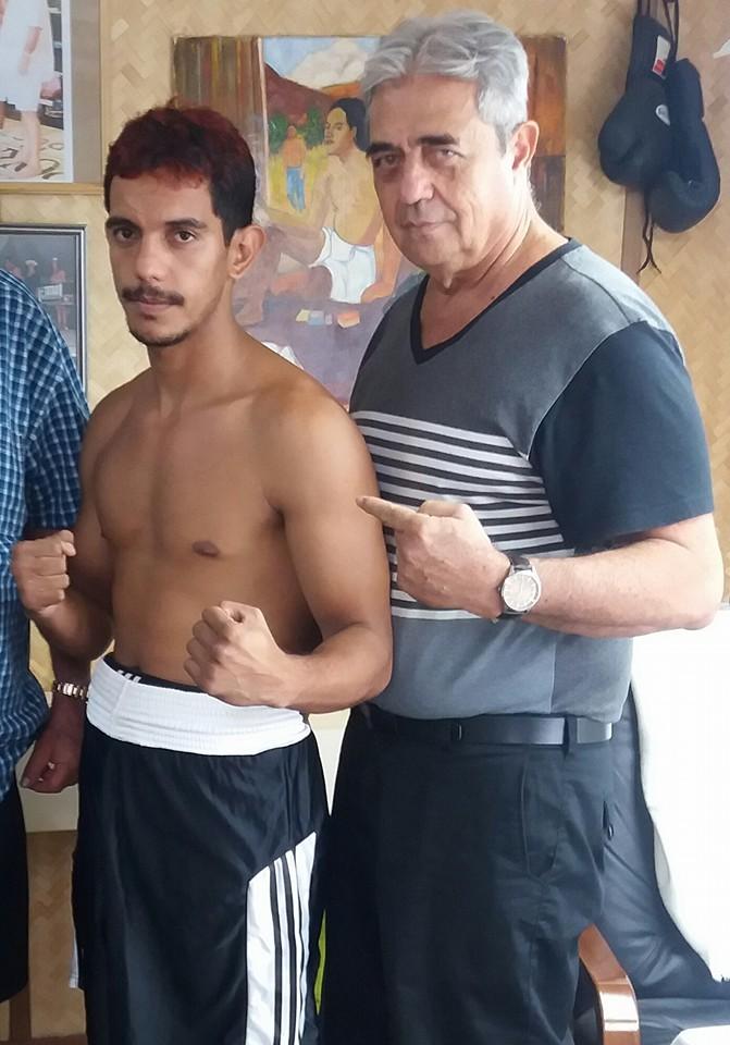 Roland Brillant avec Jean Louis Albertini