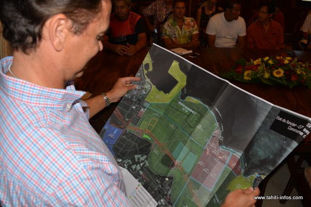 Le ministre pense démarrer les travaux sur cette zone en 2017
