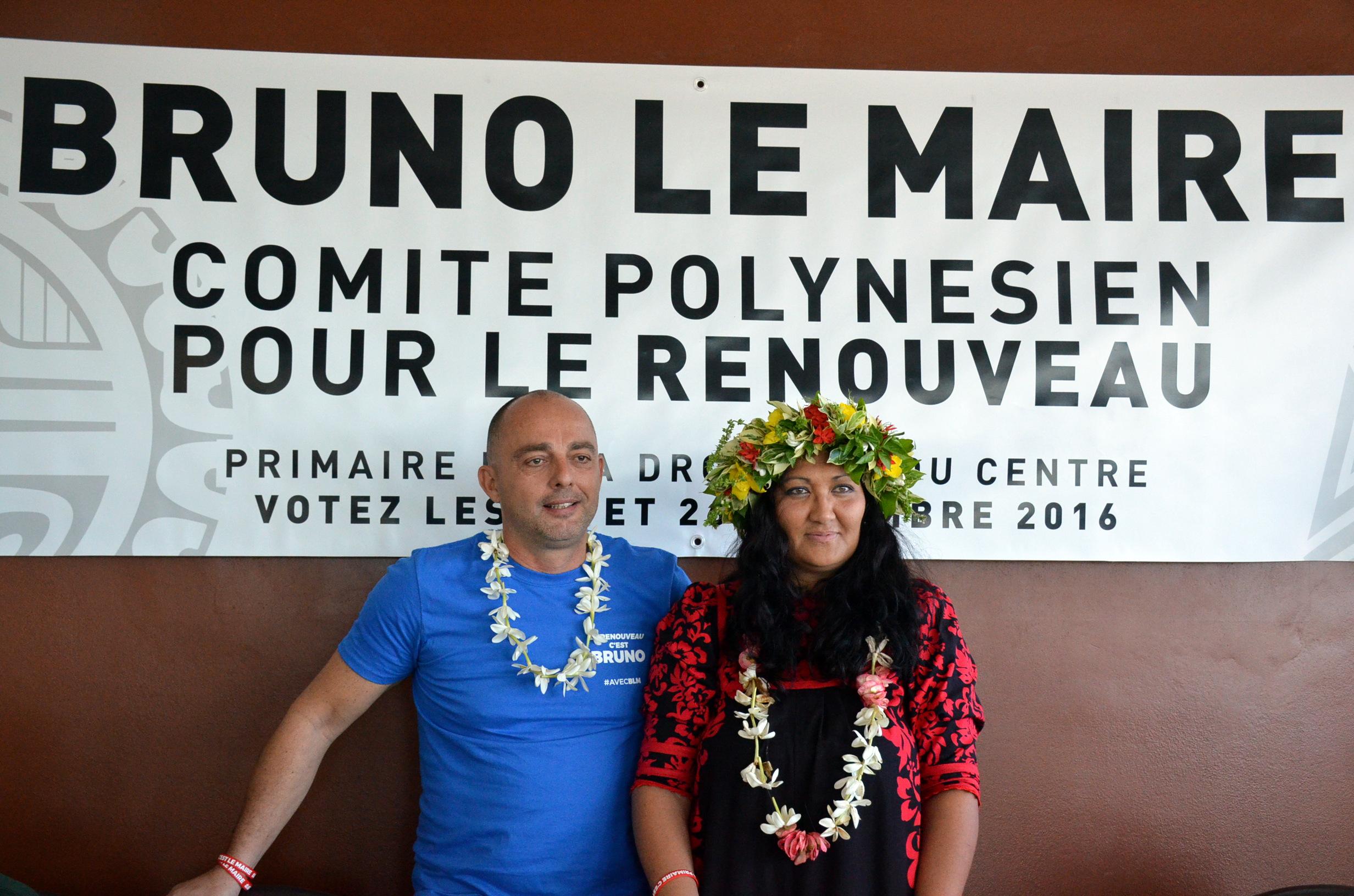 Le comité polynésien de soutien à Bruno Le Maire se dévoile