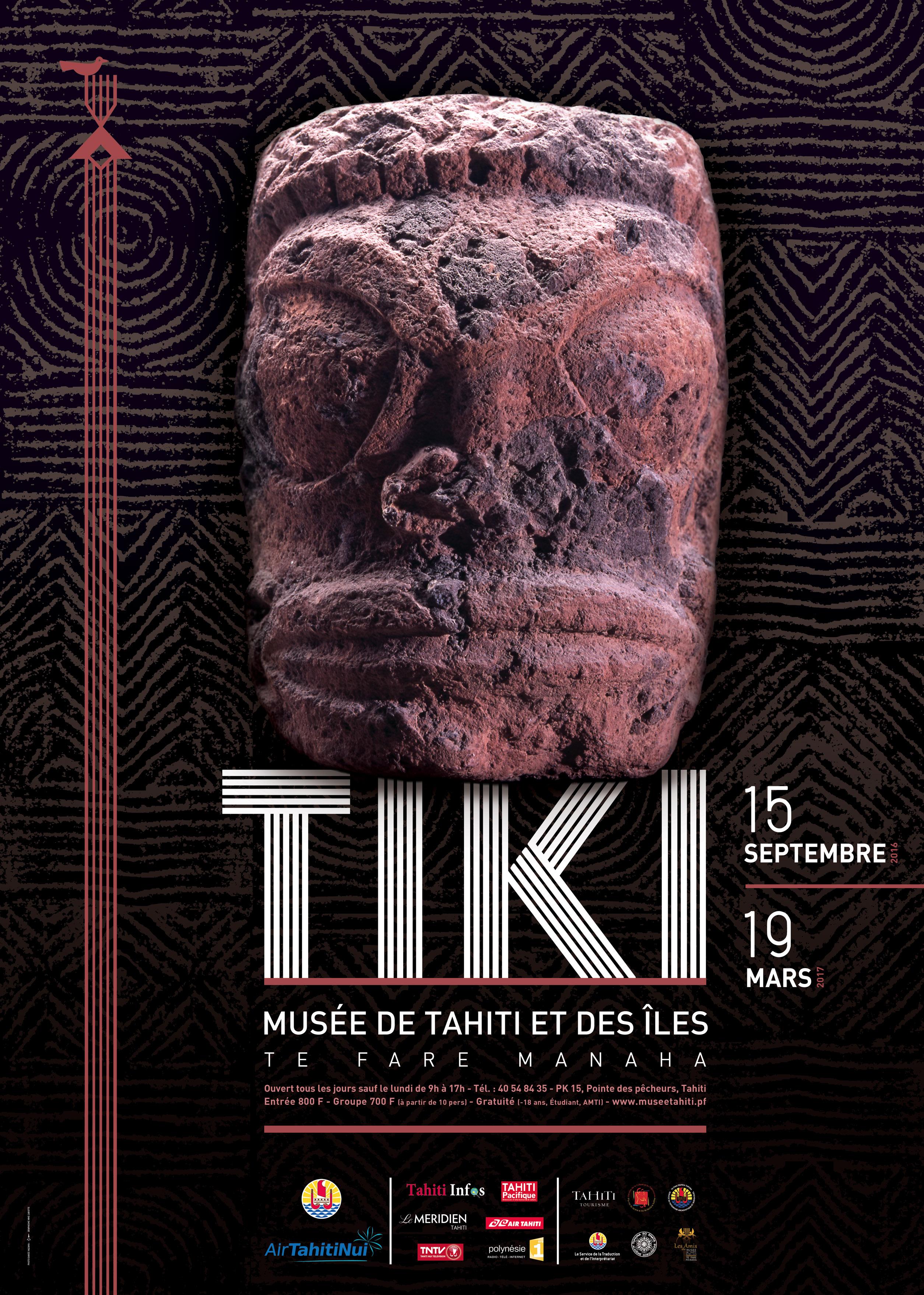 Les secrets du tiki révélés dans une exposition au Musée de Tahiti et des îles