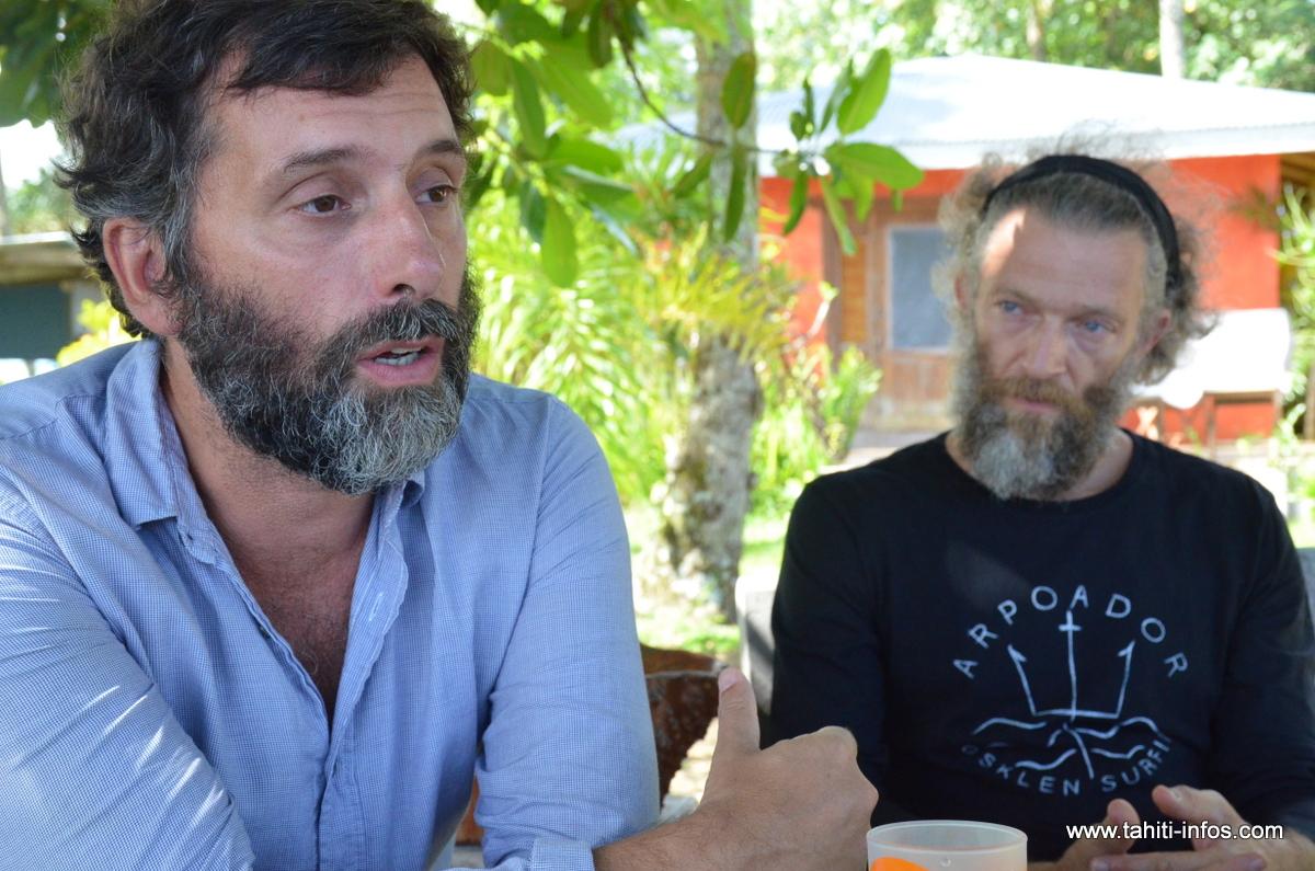 Le réalisateur Edouard Deluc.