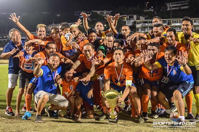 Dragon remporte le Trophée des champions 2016.
