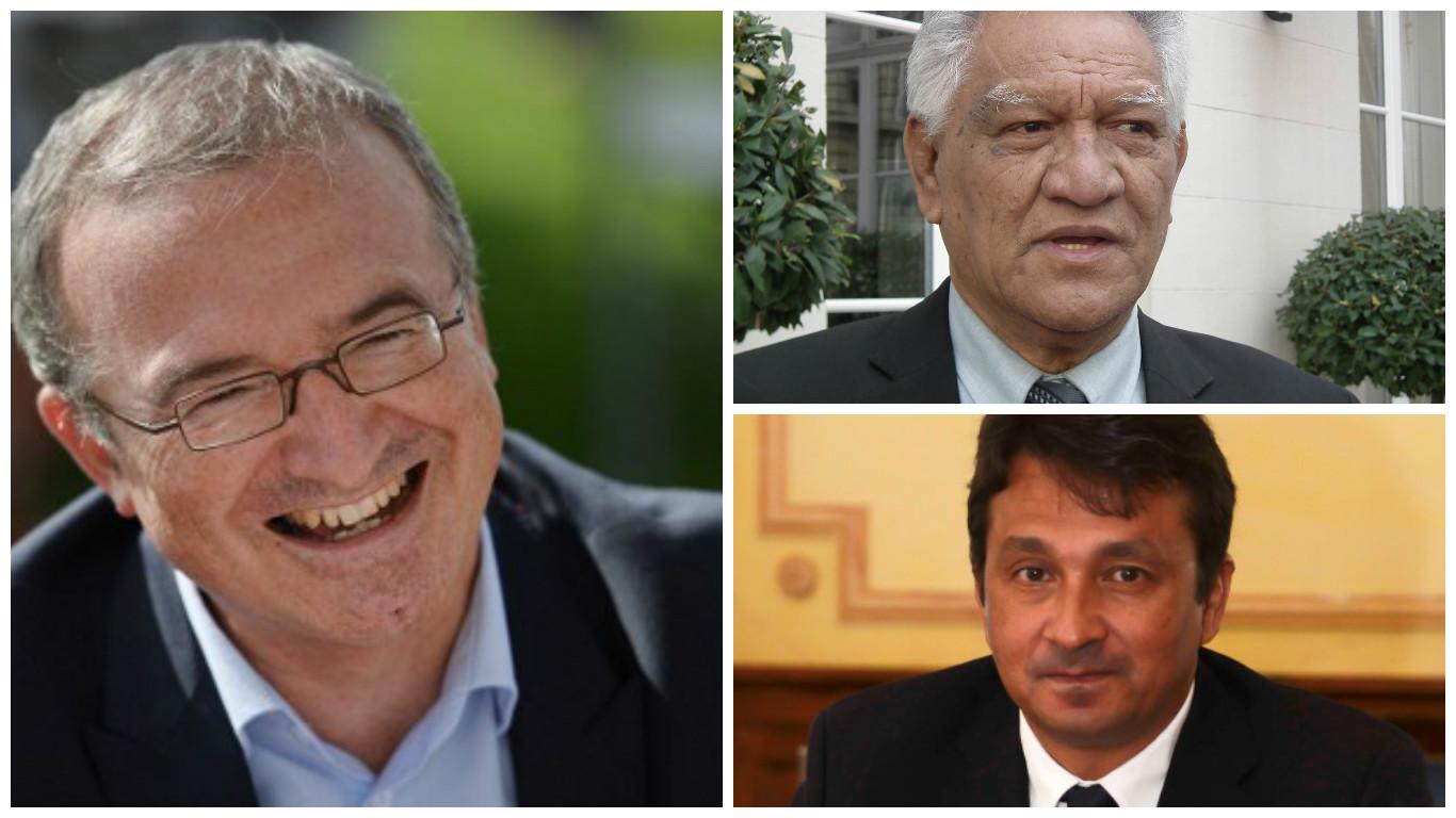 Hervé Mariton a atteint de justesse la barre des 20 soutiens requis, le tout en se parrainant lui-même. Le soutien des deux élus polynésiens lui était donc indispensable.