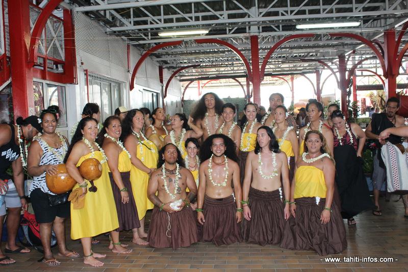 """""""Nous venons tous de la même famille"""", clame la délégation hawaiienne"""