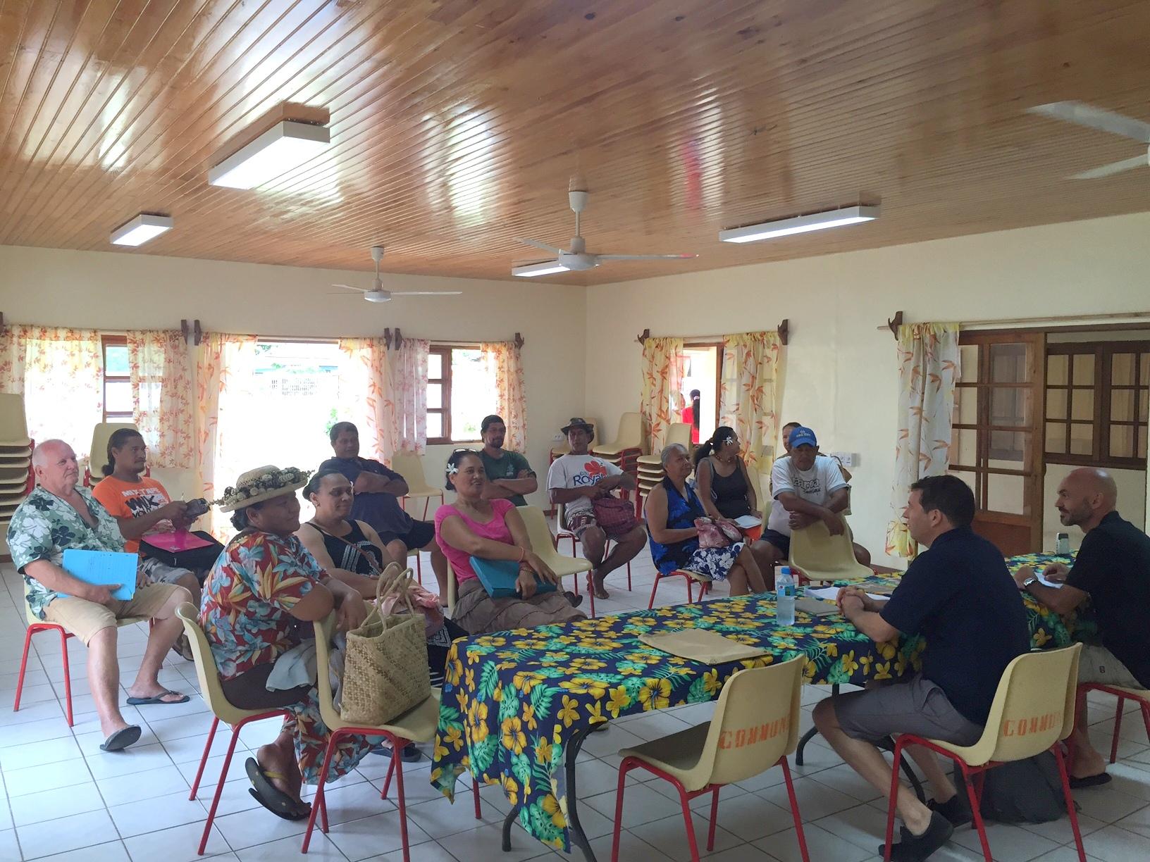 La Sofidep a organisé une réunion publique d'information afin de présenter aux chefs d'entreprises et aux porteurs de projet les produits de financement qu'elle peut leur offrir. Le 13 septembre à la mairie de Moerai (Rurutu), les représentants de la SEM sont également attendus le 15 septembre à la mairie de Mataura (Tubuai).