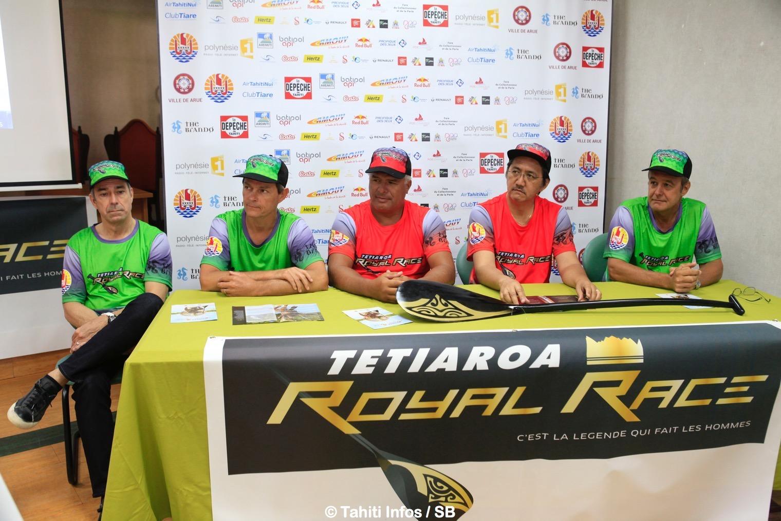 Va'a V6 – Tetiaroa Royal Race : Une course hors norme