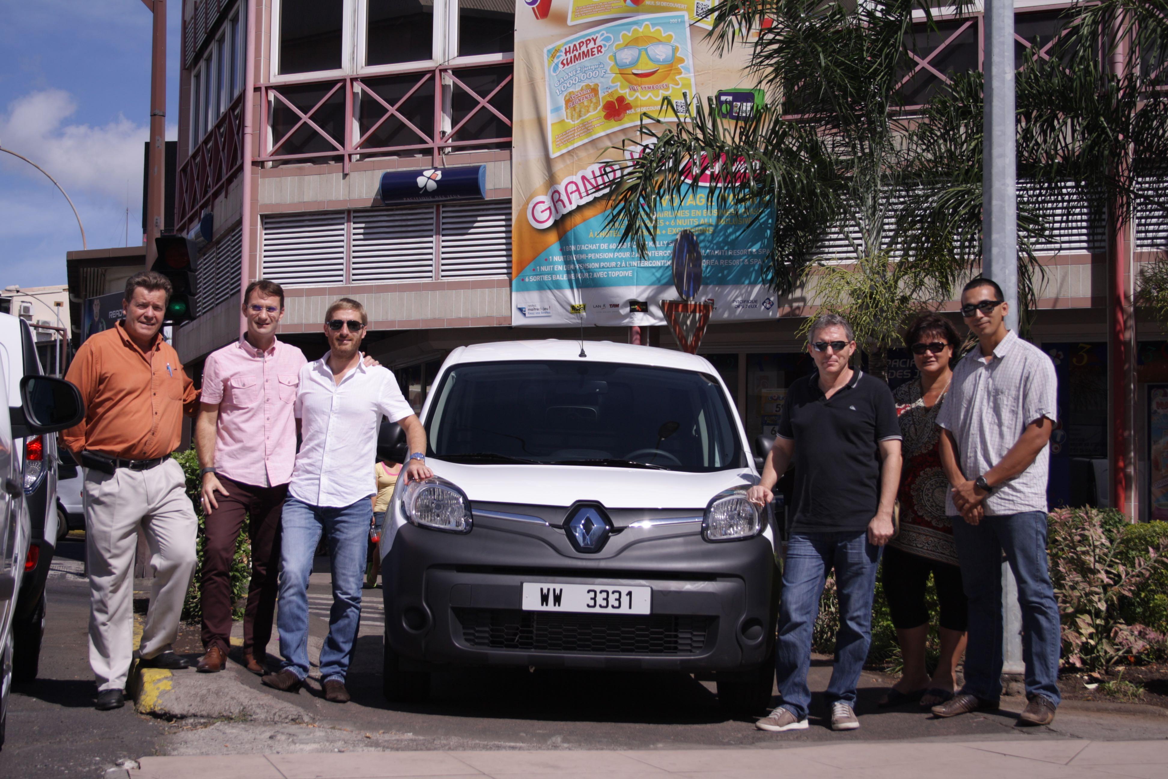 La Pacifique des jeux s'équipe de véhicules 100% electriques