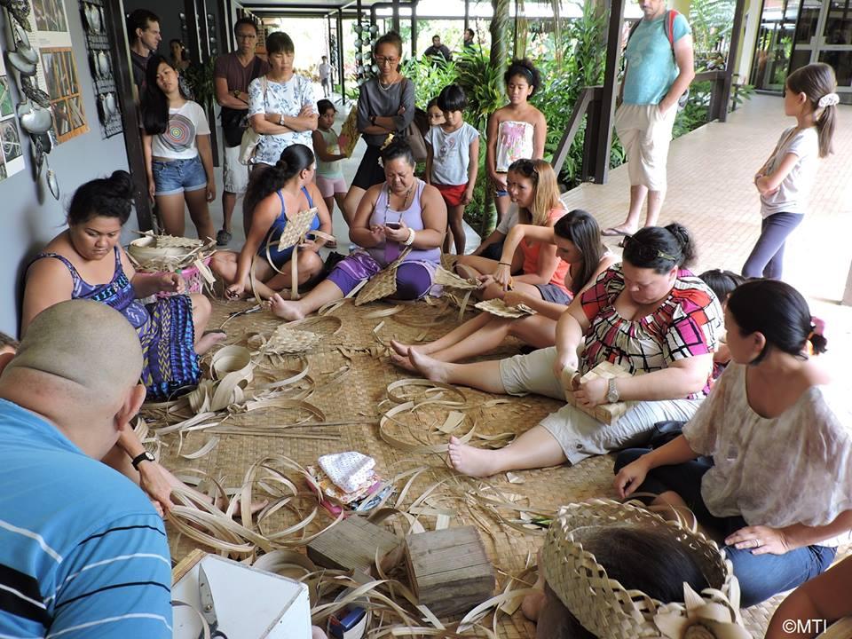 Des ateliers de tressage sont organisés ce week-end au Musée de Tahiti et des îles.