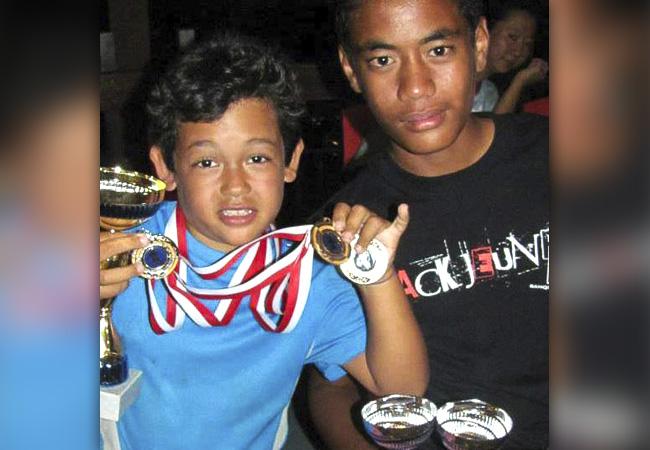 Belle performance pour nos jeunes tennismen