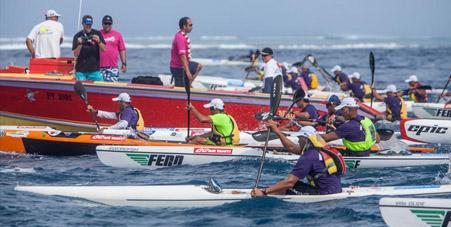 Kayak - Maraamu Surfski : Hiromana Flores s'impose devant Lewis Laughlin