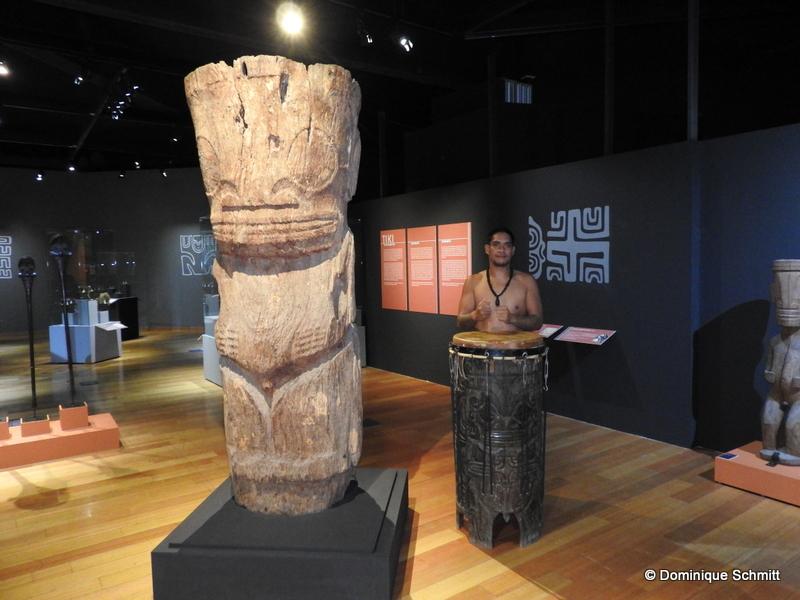 """Exposition """"Tiki"""" : à la découverte de la culture marquisienne"""