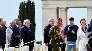 A Longueval, hommage aux Néo-Zélandais tombés à la bataille de la Somme, avec le Prince Charles