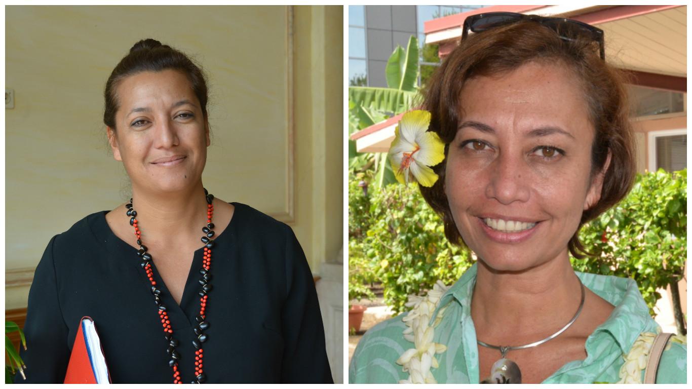 Législatives : Maina Sage et Nicole Sanquer, candidates pour la première et la deuxième circonscription