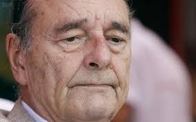 Jacques Chirac hospitalisé à Paris pour une infection pulmonaire