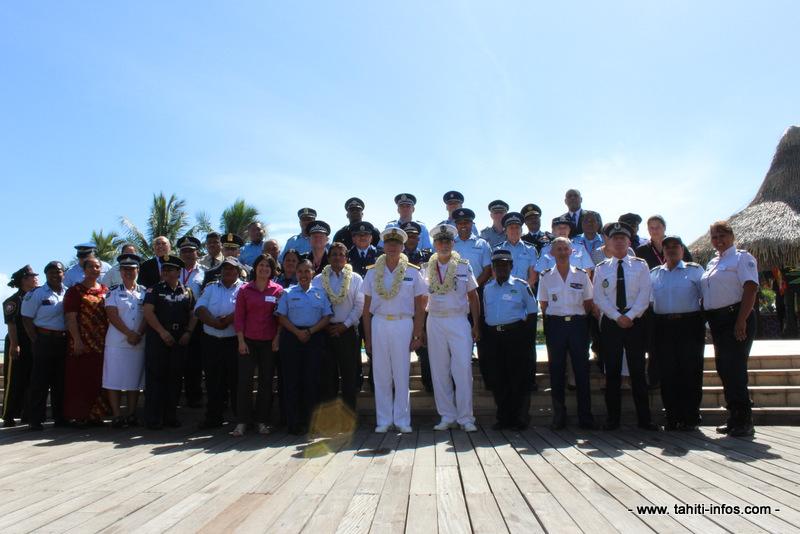 Les chefs de police sont réunis à l'Intercontinental pour la semaine.