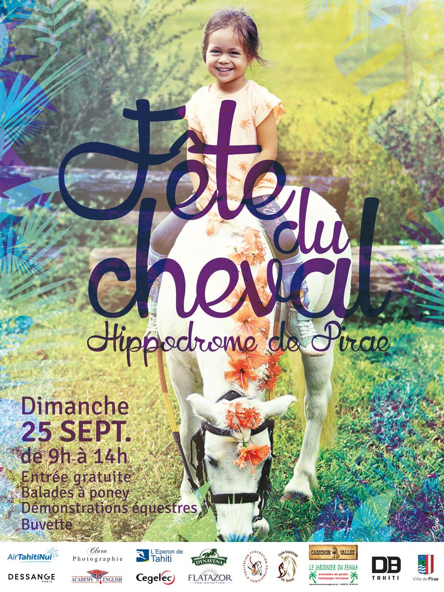Découvrez l'équitation à l'occasion de la Fête du Cheval ce week-end à Pirae