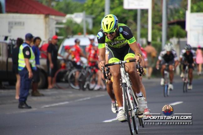 Manarii Laurent n'a pas pu conserver sa première place lors de la 2e épreuve