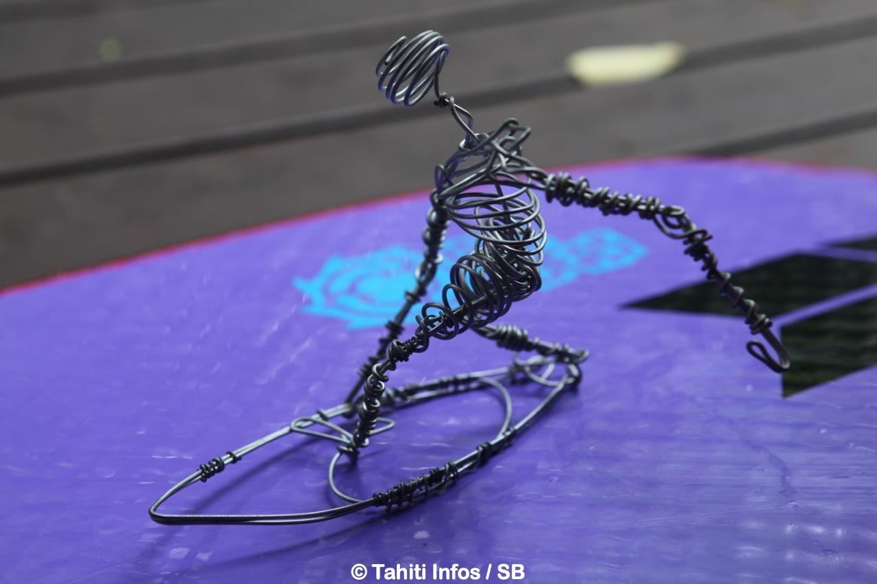 Facundo est également sculpteur