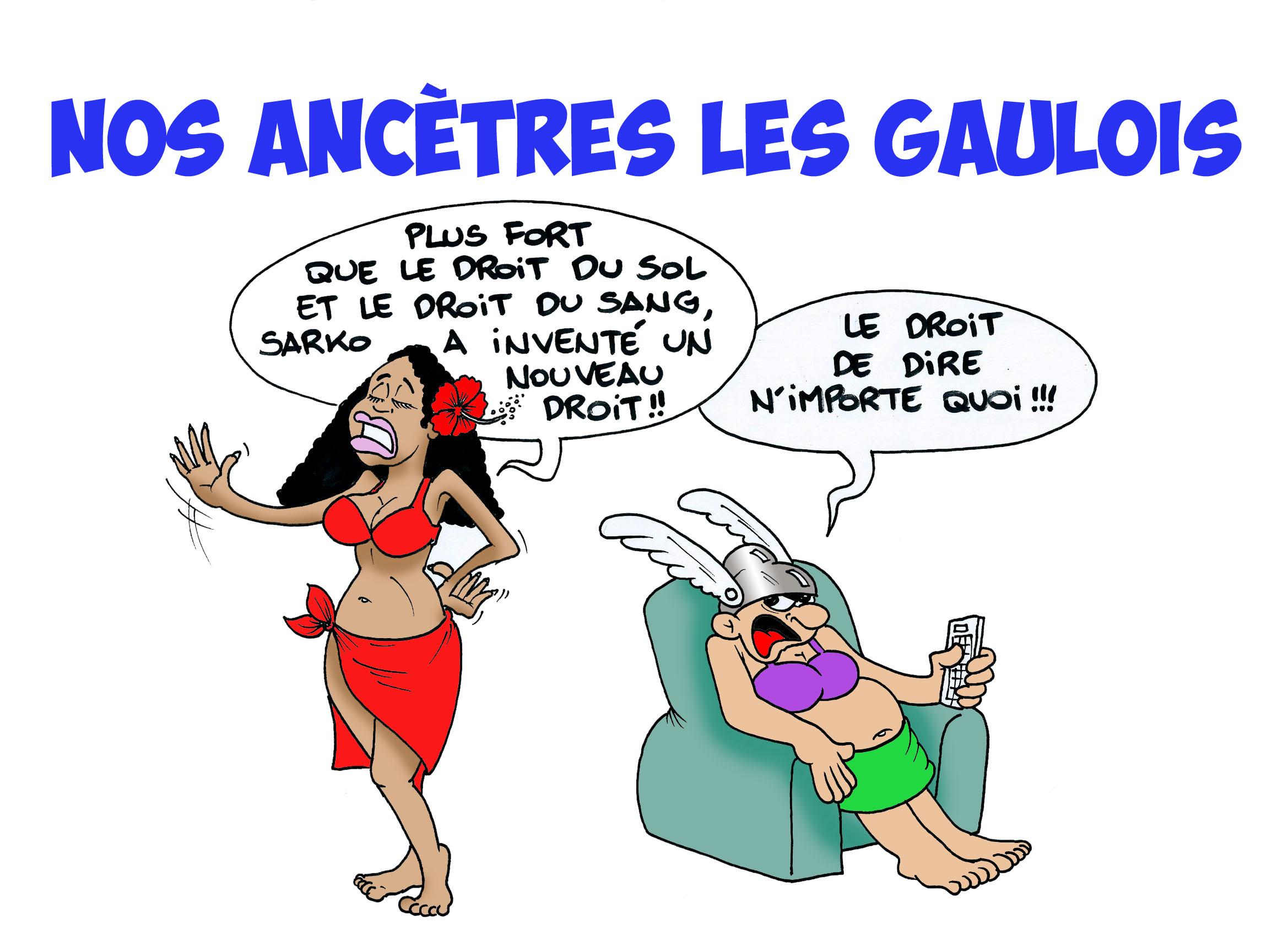 """"""" Nos ancêtres les Gaulois """" vu par Munoz"""