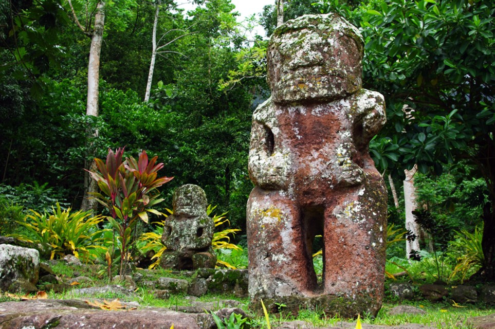 Tiki Takai'i de Puamau à Hiva Oa