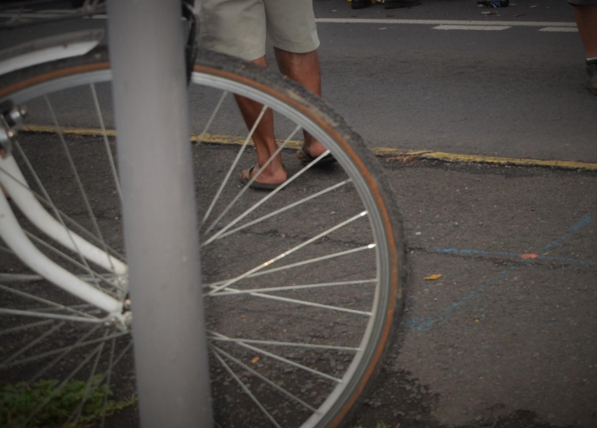Le voleur de vélo ne manquait pas de culot