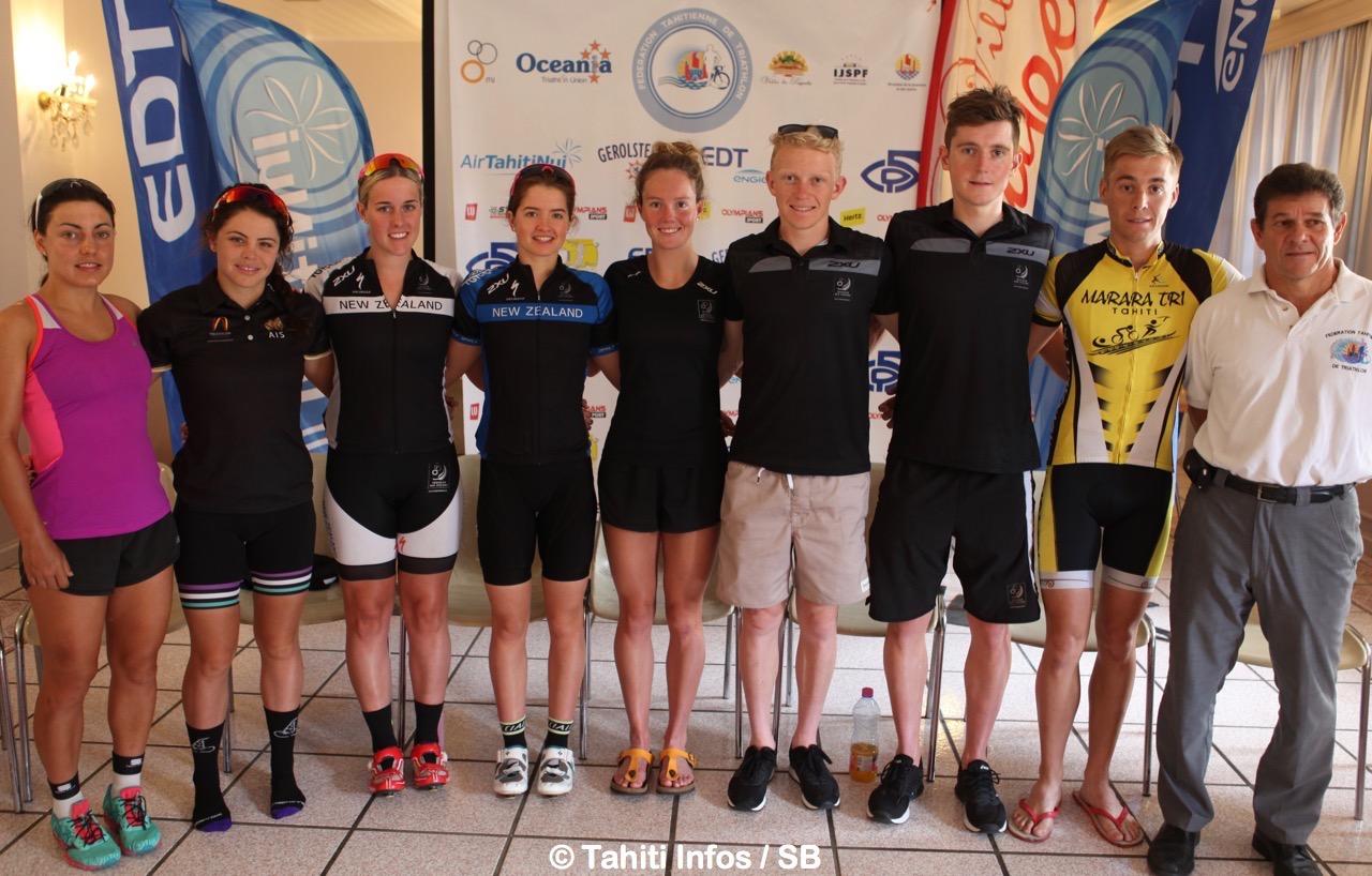Triathlon – Océania Cup : Une compétition internationale aux Jardins de Paofai dimanche