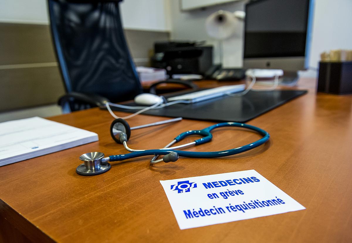 Hôpital: les médecins en grève pour des carrières plus attractives