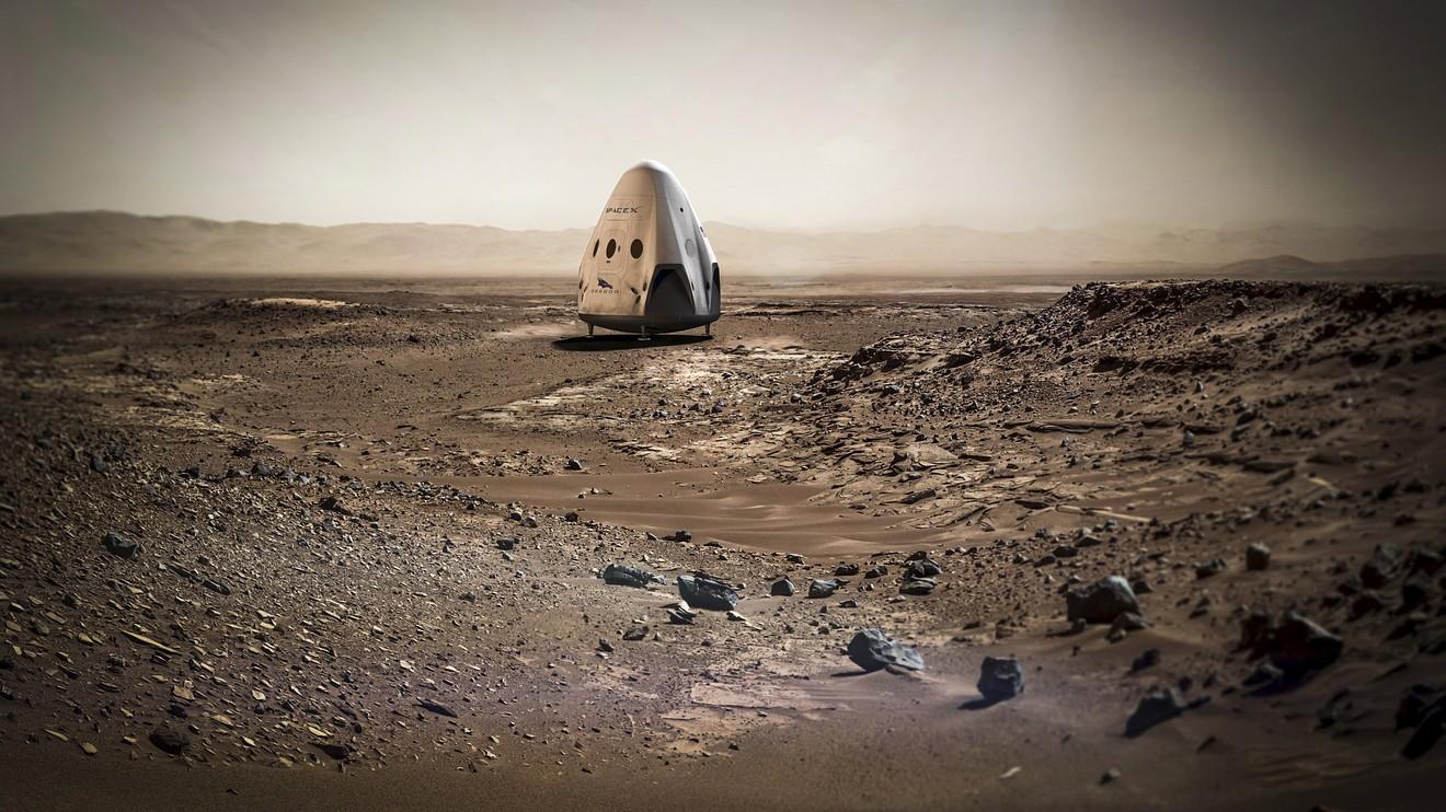 """Le milliardaire Elon Musk promet un voyage """"fun"""" pour coloniser Mars"""