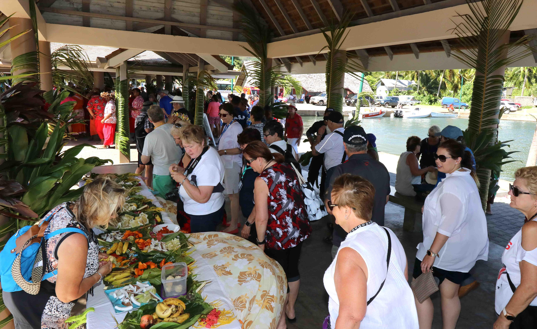 Le site d'accueil des croisières de Papetoai inauguré
