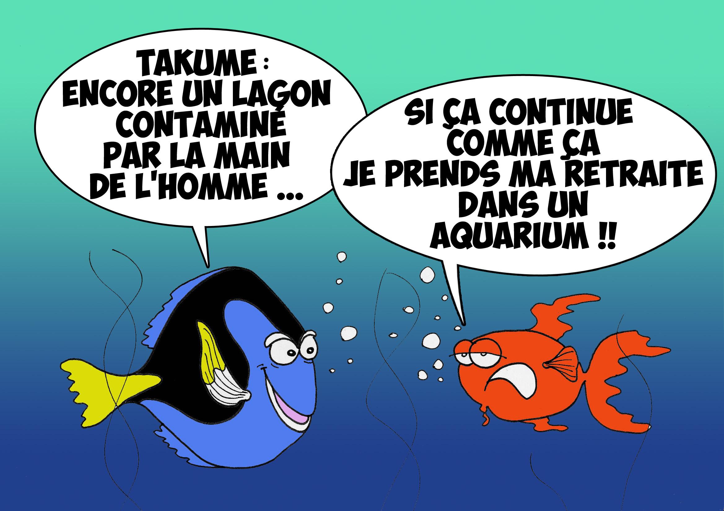 """ Les nacres de Takume "" vu par Munoz"