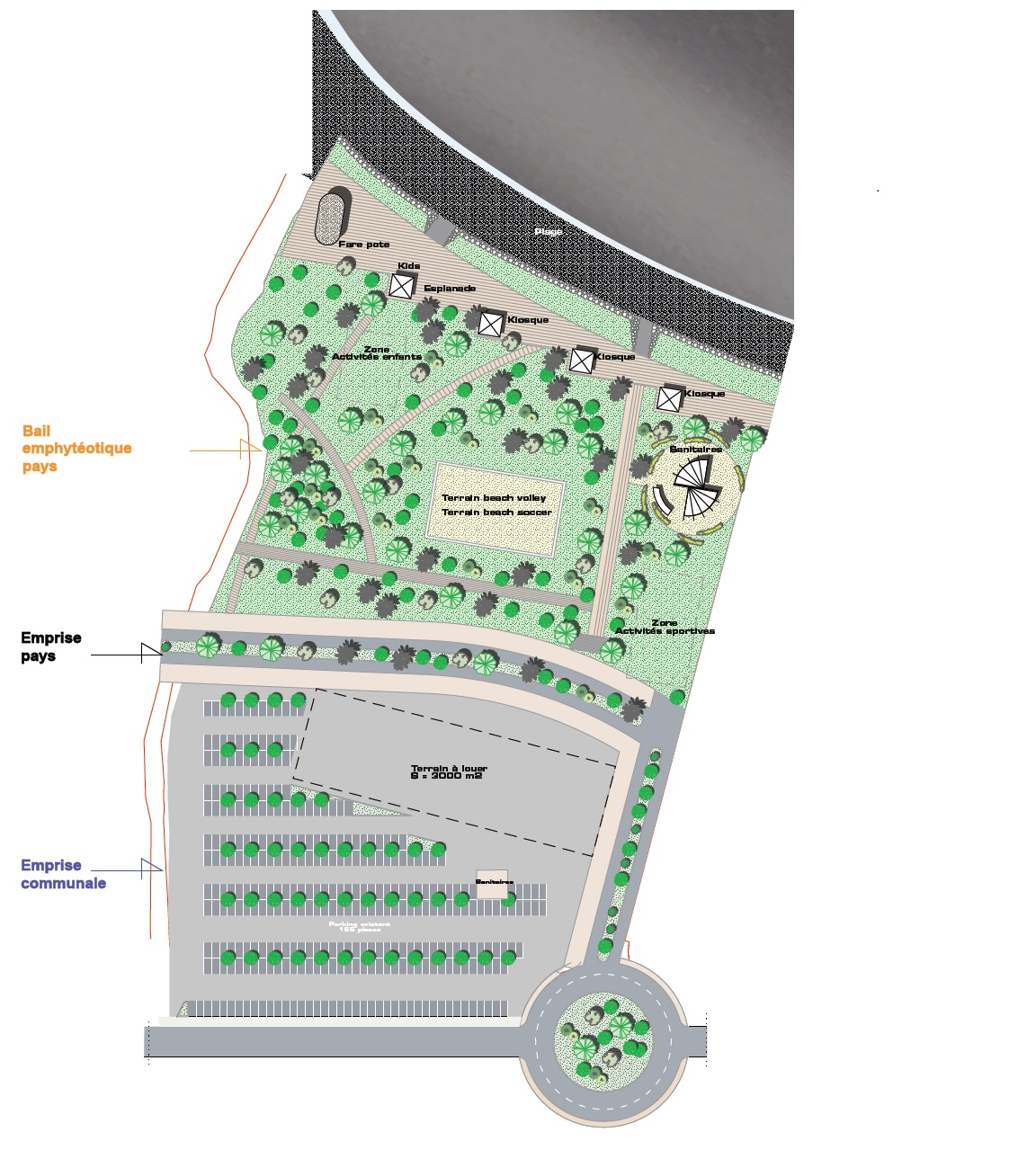 Le projet du nouveau centre-ville de Pirae se concrétise
