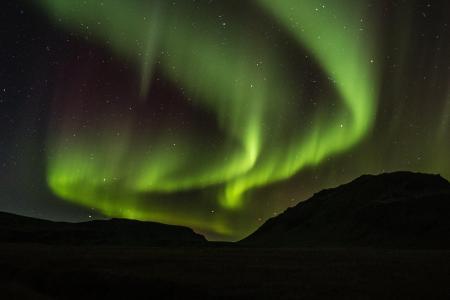 Reykjavik éteint la lumière une heure pour admirer les aurores boréales
