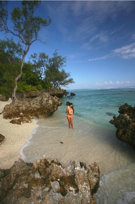 Si vous aimez la tranquillité, pas de doute, c'est sur les plages de Rimatara que vous la trouverez.