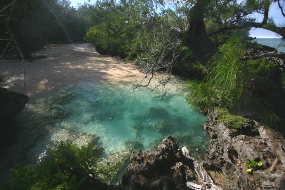 Ce petit bassin très oxygéné est un jacuzzi naturel qui emportera l'adhésion des grands comme des petits. Détente assurée !