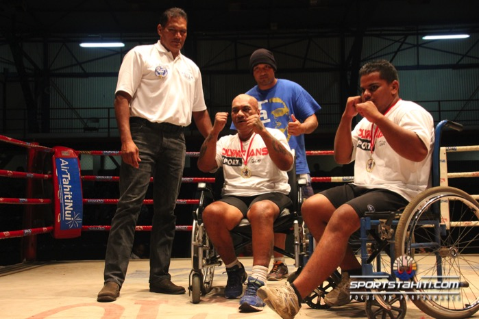 Boxe : Le premier combat Handi-boxe à Tahiti