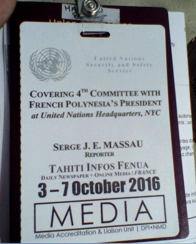 Serge Massau, envoyé spécial de Tahiti Infos est sur place