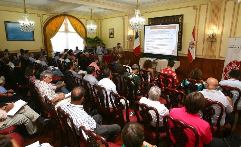 La première édition de la Conférence économique, en mai dernier, s'était tenue à la Présidence. Ce nouvel opus aura un cadre plus détendu, à l'hôtel Le Méridien Tahiti.