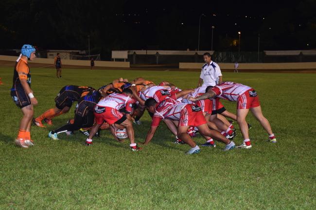 Premier match de championnat officiel pour le Papeete RC.