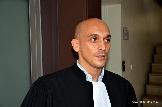 Me Bennouar, l'un des avocats des agriculteurs poursuivis pour recel.