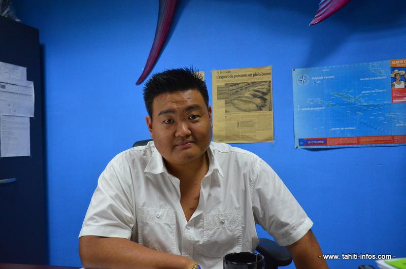 Yann Ching, directeur général de Vini Vini.