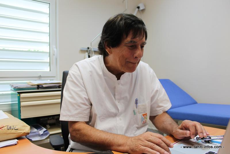 Gilles Soubiran est médecin en Polynésie depuis de nombreuses années.