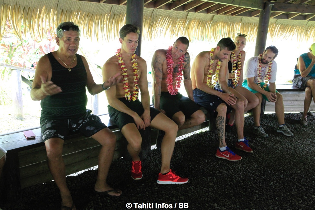 Natation – Tahiti Swimming Experience : Les champions en immersion totale dans la culture polynésienne